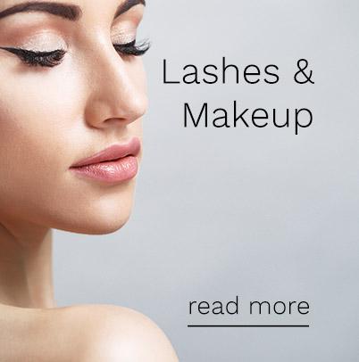 lashes & makeup